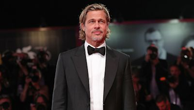 Brad Pitt Hits the Red Carpet in Venice as He Talks New Movie Ad Astra Exploring 'Masculinity'