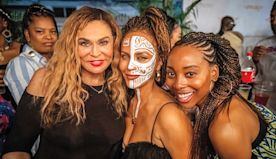 Ghana to Tahiti, Hollywood Spent the Holidays in Far-Flung Locales