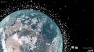 Space junk puts satellite business at risk