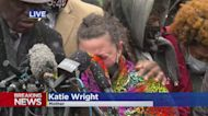 Daunte Wright's Mother Katie Wright Speaks At Tuesday Press Conference