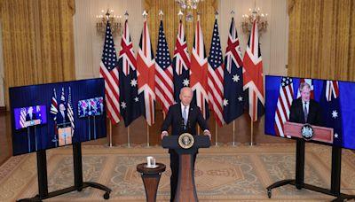 """Cold war mentality"": China slams new U.S. pact with U.K. and Australia"