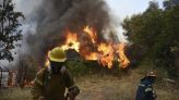 Wildfire in western Greece forces village, beach evacuations
