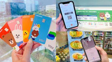 LINE Bank熊大兔兔卡「好康攻略」!2大超商回饋41%,每月免費轉帳60次