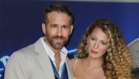 Ryan Reynolds Hugs Pregnant Wife Blake Lively As She Visits Him On Movie Set