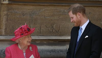 Prince Harry playfully impersonated his grandmother the Queen in new clip