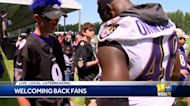 Ravens welcome fans at training camp, Garth Brooks concert