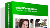 Latest ezW2Correction Software Gives Service Industries A Solution To Print Corrected Forms
