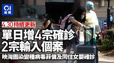 新冠肺炎.直播 現首宗本地變種個案 37萬外傭5月9日前強制檢測