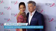 Katharine McPhee Shares Flirty Text from David Foster After Sending Him an Underwear Photo