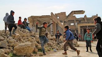 The world's children are being 'failed' as report reveals one in five live in a conflict zone