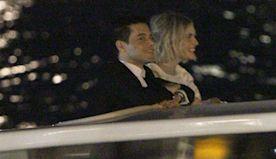 Rami Malek & Lucy Boynton Looks So In Love On Romantic Dinner Date In Venice — Pic