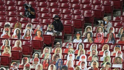 The Latest: Big West hoops tournaments banning spectators