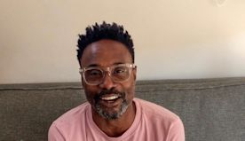 Billy Porter, Billie Eilish Offer Advice to Young Creators at HFPA Philanthropy Event: 'Honor Your Craft'