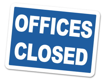 Offices Closed – Thanksgiving |