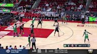 Al Horford with a dunk vs the Houston Rockets