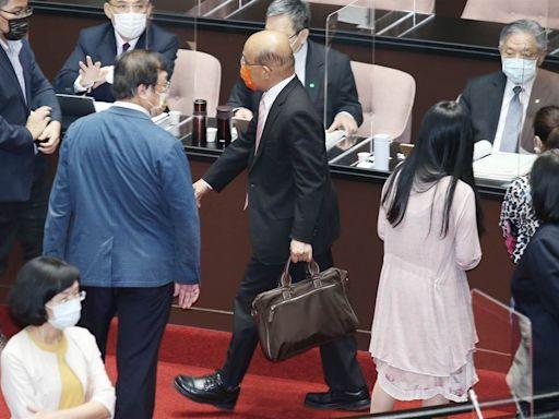 蘇貞昌3+11報告遭杯葛 吳子嘉預言明年選舉結局