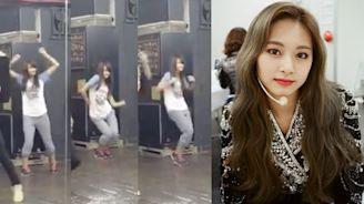 子瑜13歲「清純妹妹頭」影片曝光 穿7分褲扭臀尬舞 | 娛樂 | NOWnews 今日新聞
