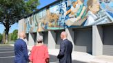 New mural completed in Oak Ridge illustrating city's history of innovation