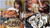 只要199元!台南超佛「鮮蚵蛤蜊吃到飽」不限時任吃,肥美秋蟹想吃先預訂