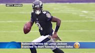 Baltimore Ravens QB Lamar Jackson Expected To Start Tuesday Against Dallas
