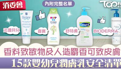 【消委會】香料致敏物及人造麝香可致皮膚炎 15款嬰幼兒潤膚乳安全清單 - 香港經濟日報 - TOPick - 親子 - 兒童健康