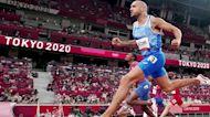 Family of world's fastest man celebrates Olympic gold