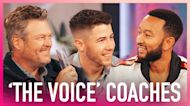 'The Voice' Coaches Face-Off In Song Lyric Game & It Gets Heated!