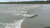 Boat trapped on Chain of Rocks likely 'sunk by storms'