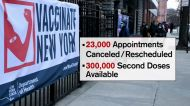 Some NYC vaccination sites shut down due to lack of doses