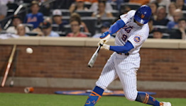 Nimmo shines, in an otherwise dreary Mets performance on Saturday night | SportsNite
