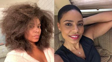 Sanaa Lathan wows fan with natural hair three years after 'Big Chop': 'This growth is outstanding'