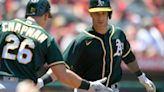 Newcomers Gomes, Marte boost Jefferies, A's over Angels 8-3