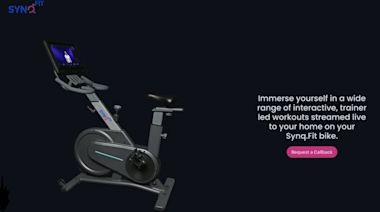 健身房在你家!印度新創SynqFit用台灣零件打造物聯網飛輪車