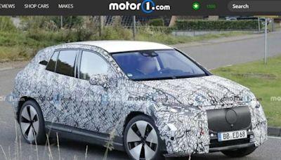 M.Benz 全新休旅 EQE 現身!搭載 56 吋巨型螢幕 - 自由電子報汽車頻道