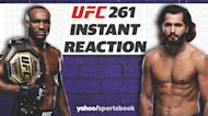 UFC 261 Instant Reaction