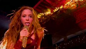Shakira's Super Bowl Tongue Is The Best Meme On The Internet Today