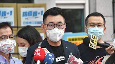 護航羅智強「疫苗乞丐」說 江啟臣稱蔡政府該為疫情負責