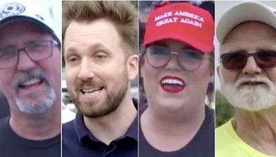 Jordan Klepper Relentlessly Trolls Trump Fans At 'Totally Normal' MAGA Rally