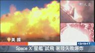 SpaceX星艦試飛 著陸失敗爆炸
