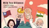 推特外交》台灣數位外交協會「奶茶乾杯」推文 美國印度裔學者轉推引發迴響