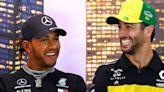 Ricciardo envious as Hamilton prepares to equal Schumacher's F1 wins record