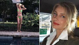 Paulina Porizkova enjoys final day of vacation in New Orleans
