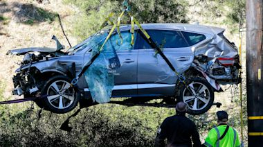Cities responsible for the road where Tiger Woods crashed could be found liable in court, lawyer says