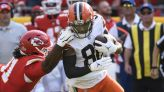 NFL notebook: Cleveland receiver Landry to miss at least three games with knee injury
