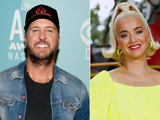 Luke Bryan Teases Katy Perry About Her Long Leg Hair: 'We Got to Do Something About This'