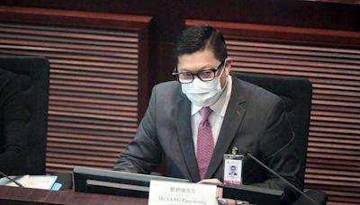 鄧炳強爭取現屆政府展開23條立法諮詢 正研假新聞法例