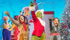 These BTS Photos From NBC's The Grinch Musical Will Get You in the Holiday Spirit - E! Online Deutschland