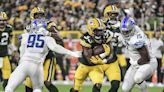 Lions Have No Answers for RB Aaron Jones in 35-17 Loss to Packers