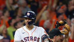 Clutch homers from Jose Altuve, Carlos Correa power Astros past Red Sox in Game 1 of ALCS