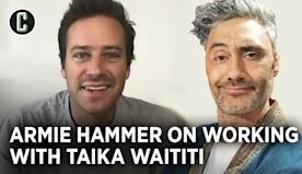 Armie Hammer on 'Next Goal Wins', Experiencing Taika Waititi as Director & Master Nap-Taker